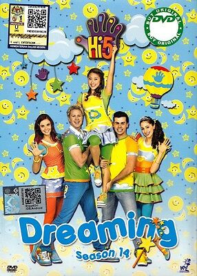 DVD Hi-5 : DREAMING * 5 EPISODES COMPLETE * SEASON 14  Original Australia Series
