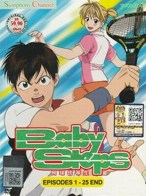 Baby Steps TV 1 - 25 End Complete DVD Animation Box Set Anime ENG SUB Region ALL