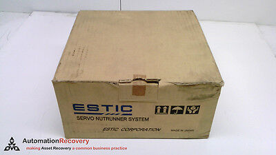 Estic Enrz-Du10 , Servo Nutrunner Unit 3Ac 200-230V 100W, New #217161