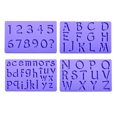 Wilton Silicone Mould Set - Letters & Numbers