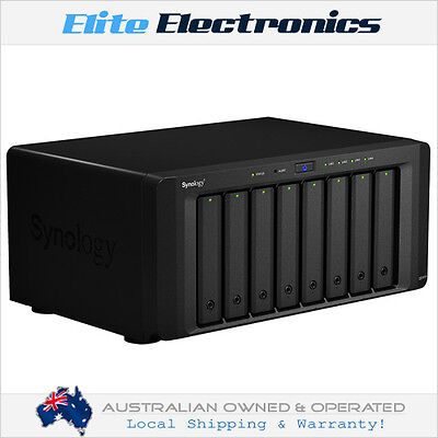 "Synology Ds1815+ Diskstation 8-Bay Nas Atom Quad Core 2.4Ghz 3.5"" Diskless"