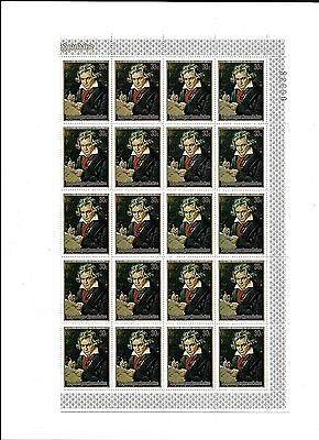 Sheet of 40 X30c Republique Rawandaise UN Stamps MNH (lot1)