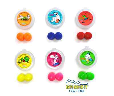 NEW PUTTY BUDDIES-Floating Silicone Ear Plugs +Free Case for Swim + Bath - 1pair