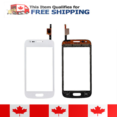 Samsung Galaxy Core G386W G386F Digitizer White And Tempered Glass