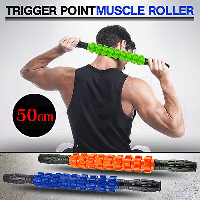 Large Exercise Massage Roller Stick Leg Body Back Muscle Trigger Point Massager