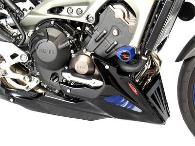 Yamaha Fj-09 Tracer (Fits With Engine Protectors)/carbon Look-Silver Belly Pan