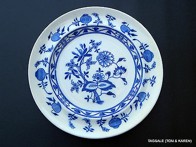 "Blue Onion by  Meissen ~ B.W.M. & CO Cauldon  England ~ 10 1/2"" Dinner Plate"