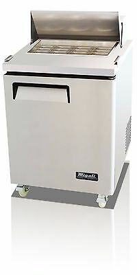 Migali C-SP27-12BT Mega Top Single Door Sandwich Salad Prep Table