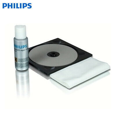 Philips SAC2530 CD/DVD Disc Cleaning Cleaner and Repair Kit - NEW