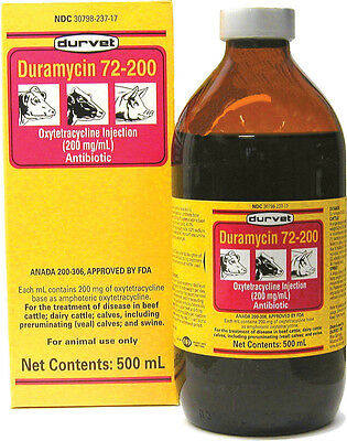 Duramycin 72-200, No. 001-10552NB,  by Durvet Inc