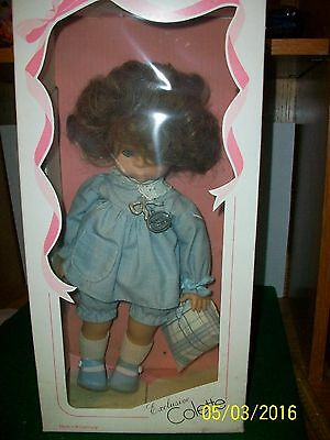 Vintage Colette 14 inch Vinyl and Cloth Zapf Doll made in W. Germany in Box