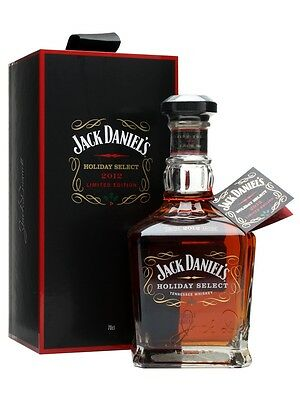 2012 Jack Daniel's Holiday Select Tennessee Whiskey  700ml