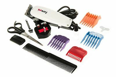 11Pc Professional Grooming Kit Animal Pet Cat Dog Hair Trimmer Clipper With Case