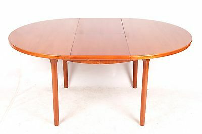 Retro Teak Dining Table by McIntosh Extending Seats 6 Mid Century 1970s Vintage