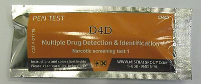 D4D pentest - CANNABIS, AMPHET, KETAMINE, HEROIN HOME DRUG SCREENING TEST KIT