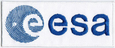 European Space Agency ESA Badge Iron On Embroidered Patch