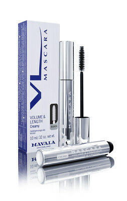 Mavala Volume & Length Creamy Mascara 3oz 85ml 3 Colours Black Brown Blue