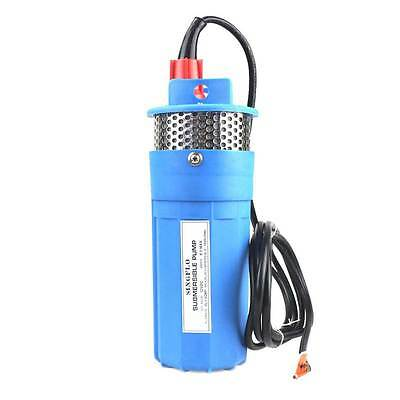 Farm & Ranch Solar Powered Submersible DC Water Well Pump 12VDC 230FT+ Lift