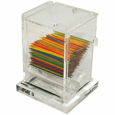 Huang Acrylic Toothpick Dispenser (8189)