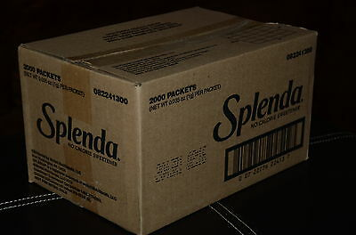 Splenda 2000 Packets No Calorie Sweetner (1 G)