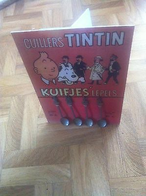 Lot Complet Cuilleres Tintin 1958 Neuf