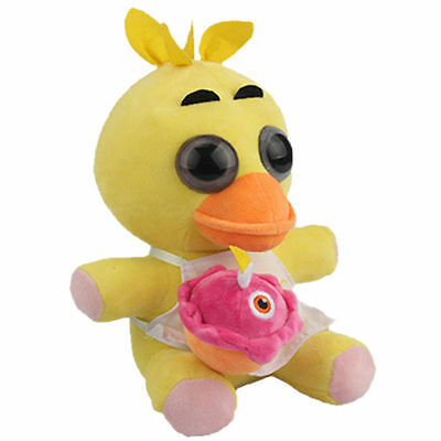 """FNAF Five Nights at Freddy's Plush Doll Toy Gift Chica 10"""" BABY Halloween Xmas"""