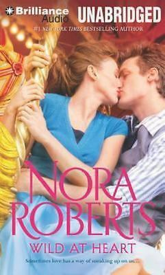 WILD AT HEART unabridged audio book on CD by NORA ROBERTS