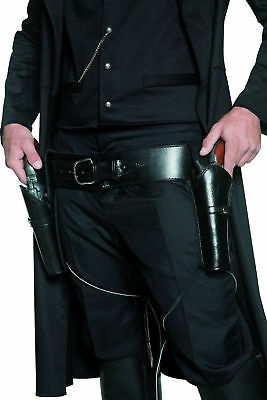 Western Gun Holster and Belt for Fancy Dress Costume Cowboy Gunman Parties