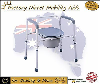 Ritecare Steel Frame Commode / Toilet Raiser Top Quality /Direct importer