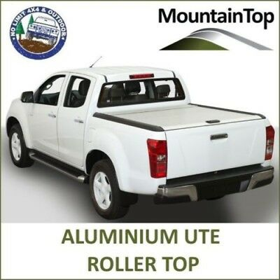 Mountain Top Aluminum Ute Roller Top to Suit Mazda BT-50 Dual Double Cab 2012+