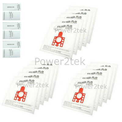 10 x FJM Hoover Dust Bags for Miele SCBC0 SDAE1 SDAG0 UK Stock