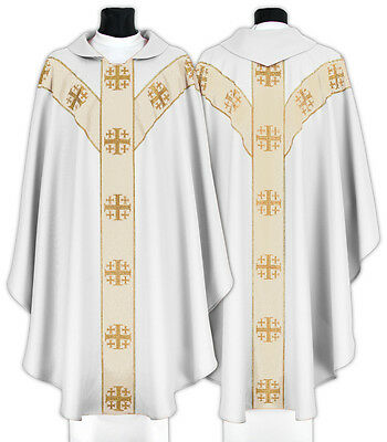Chasuble with stole, liturgical vestment Kasel Messgewand Casulla Casula