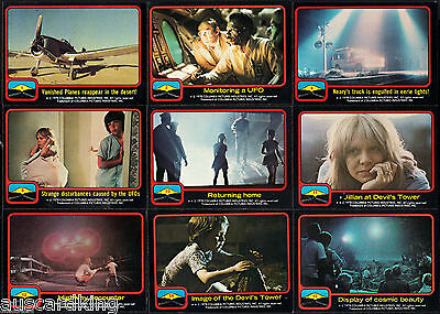 Close Encounters of the Third Kind - Trading Card SET (66/11) - TOPPS 1978 - NM