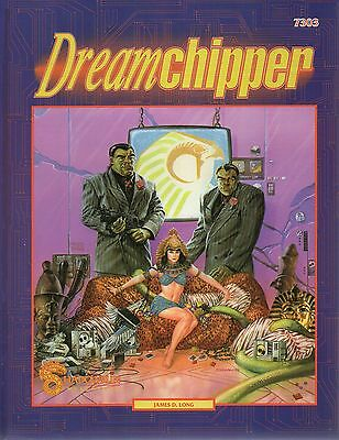 SHADOWRUN-DREAMCHIPPER-CyberPunk-Roleplaying Game-RPG-(SC)-new-very rare