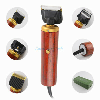PRO Electric Pet Dog Hair Trimmer 55W Horse Cat Grooming Clipper Shaver Comb Kit