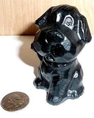Coal Souvenir Figurine Of A Dog From Almost Heaven West Virginia