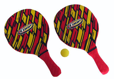 COOP Hydro Smash Paddle Ball Game for Beach or Pool - Red Stripe
