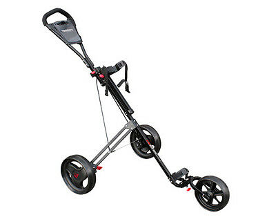 Masters Golf - 5 Series Junior 3 Wheel Golf Trolley (Black or White) + FREE DEL