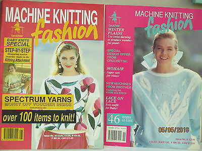 Machine Knitting  Fashion Books  Pack One