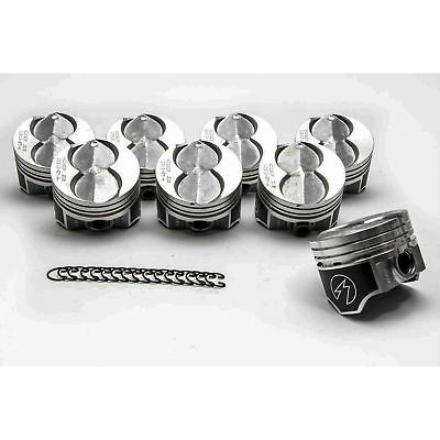 Ford 351W/5.8 Speed Pro Hypereutectic Coated Skirt Flat Top Pistons Set/8 STD