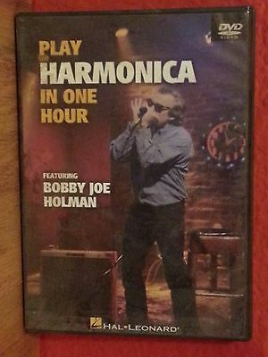 Play Harmonica in One Hour   DVD  LN