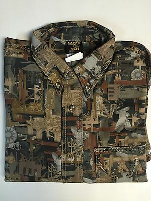 Lapco Oilfield Camo Work Shirt Medium