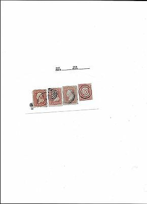 Nice lot of 4  early US Stamps (lot 2)