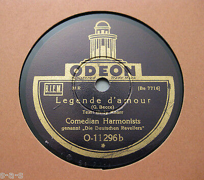 Comedian Harmonists - Legende d'amour / Toselli-Serenade  ODEON (365)