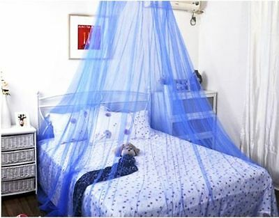 Hot Lace Bed Mosquito Netting Mesh Canopy Princess Round Dome Bedding Net