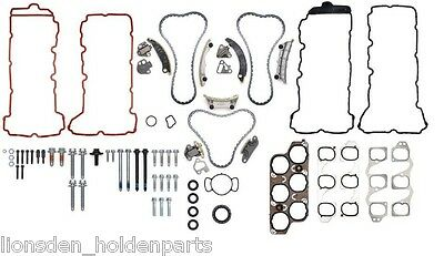 Genuine Holden New Timing Chain Kit VE V6 LE0 LW2 LY7 LP1 LWR Engines