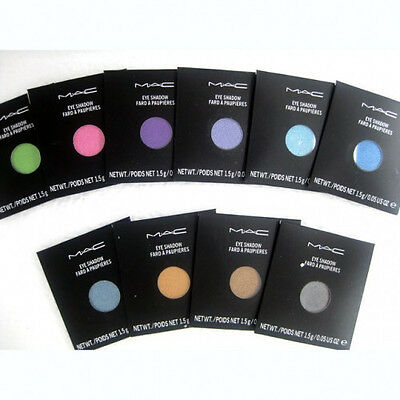 MAC Pro Palette Eye Shadow & Blush Refill Pan Assorted Colors 1.5g -  Authentic