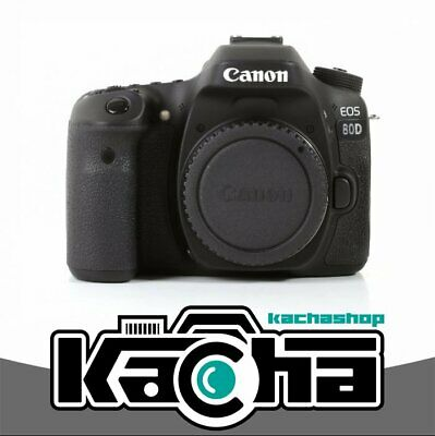 SALE NEW Canon EOS 80D DSLR Camera Built-In Wi-Fi with NFC Body (Kit Box)