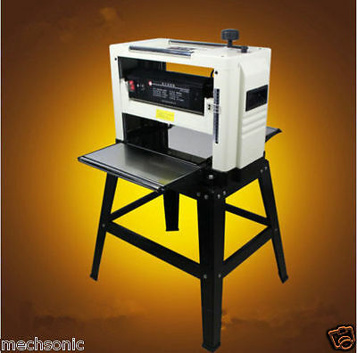"Professional 12-1/2"" Woodworking Thickness Planer 1500W 220V Tables& Knives S"