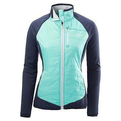 Kathmandu Surmount Womens Insulated Windproof Performance Hiking Jacket Zip Top